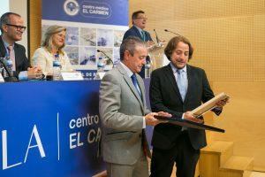 Martín Pita (Director Deleg. AENOR Galicia) y Carlos Rodríguez ( Dir. Adjunto CMEC)