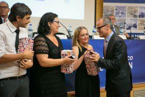 Trabajadores Área Calidad con Alcalde de Ourense
