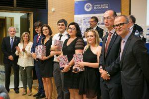 Trabajadores Área Calidad con Miguel Ángel Santalices, Eloína Núñez, Jesús Vázquez Almuíña y Jesús Vázquez Abad
